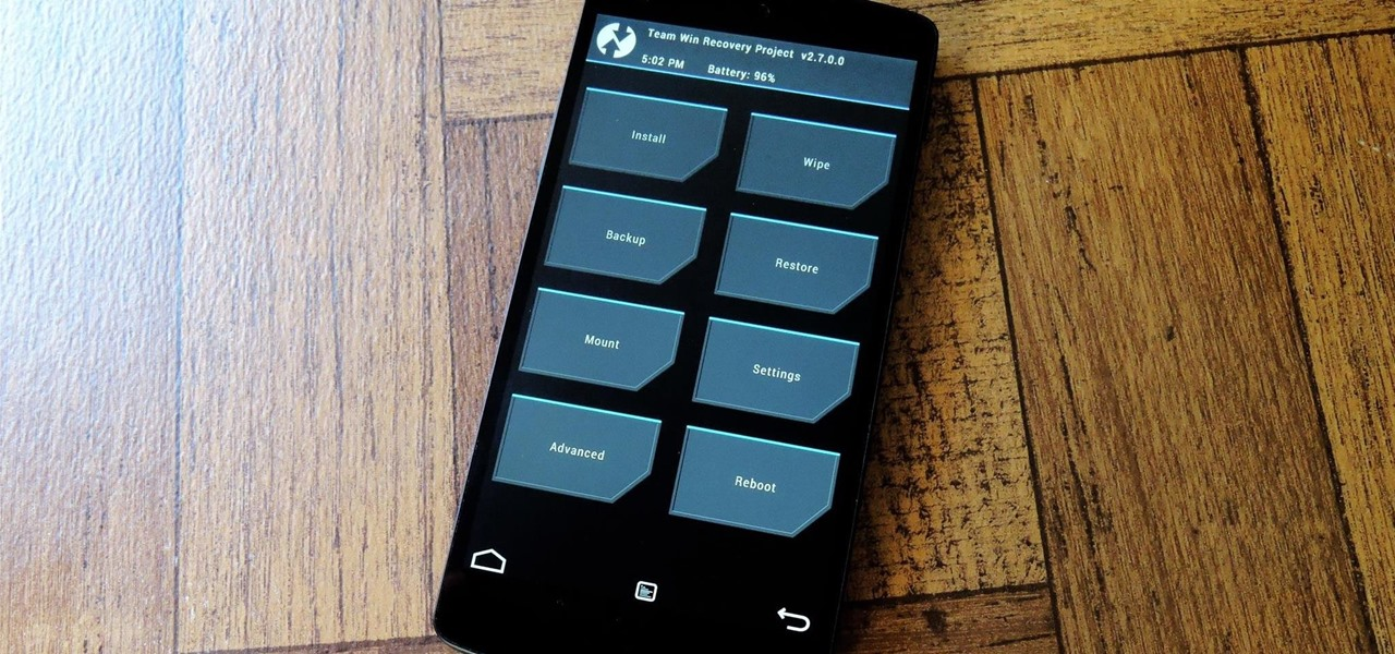 Install a Custom Recovery on Your Nexus Without Using a Computer