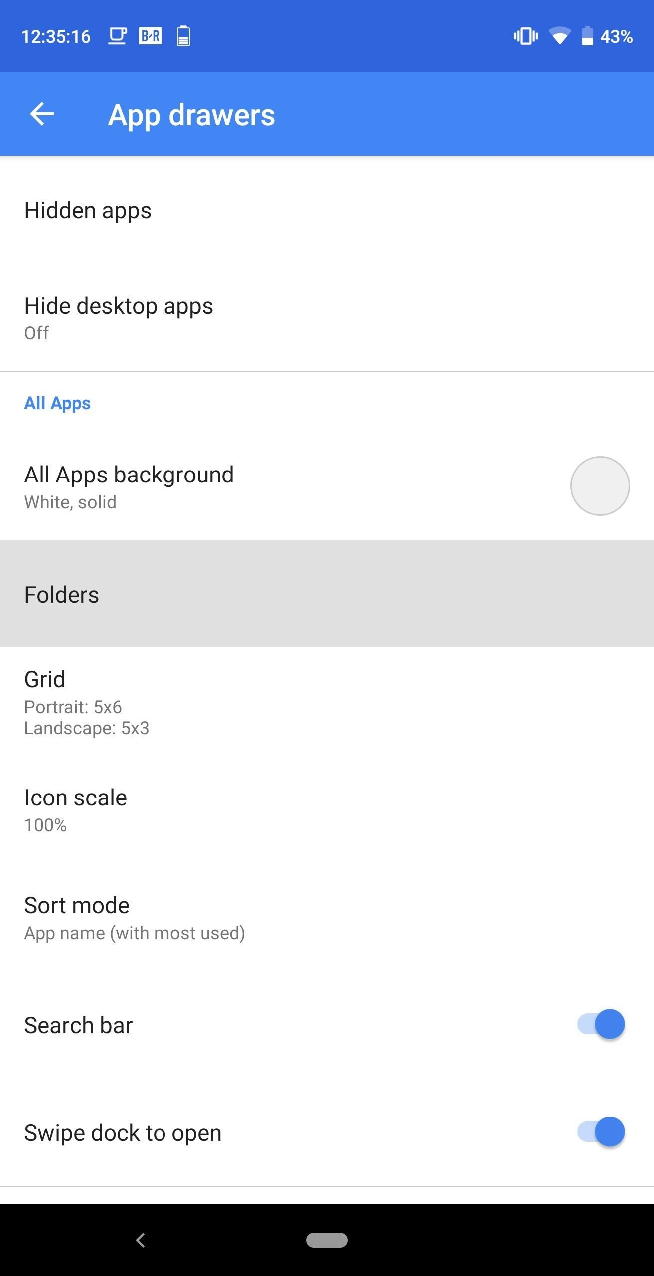 How to Create Folders in Your App Drawer with Action
