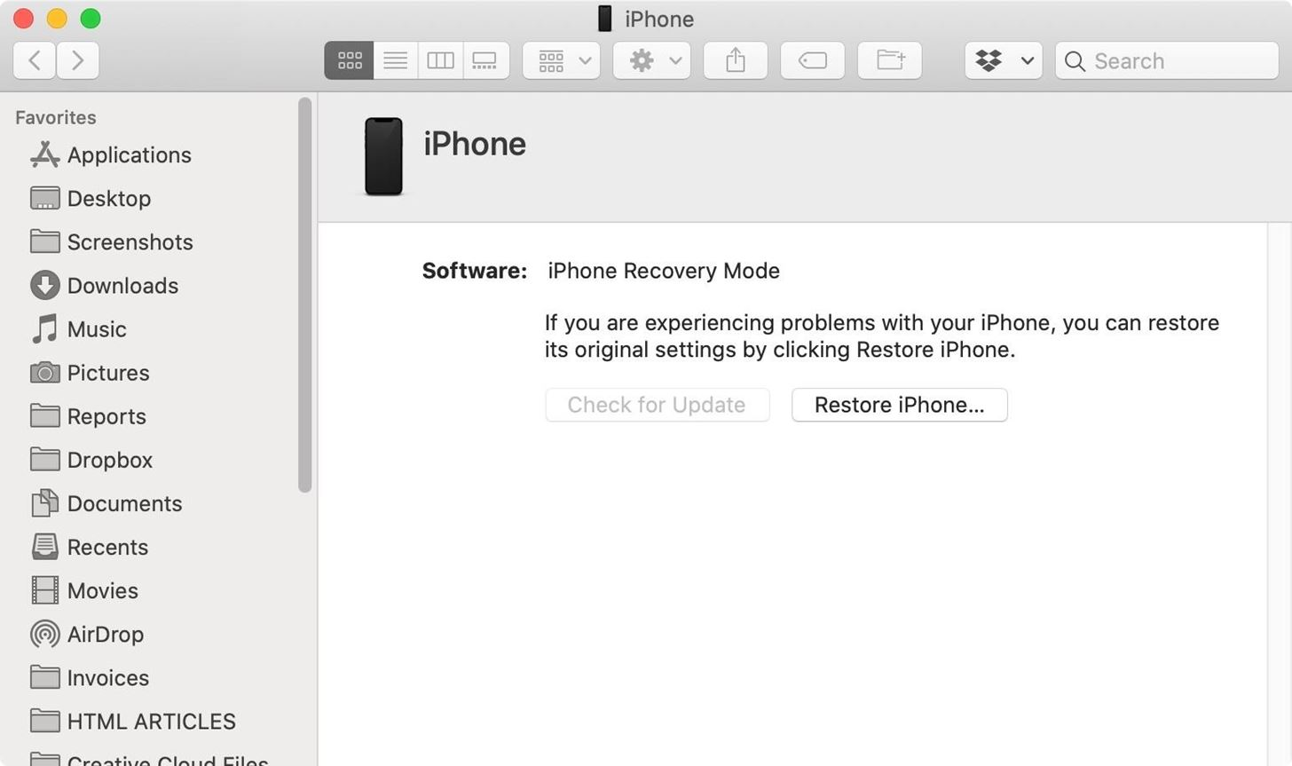 How to Use DFU Mode on Your iPhone 12, 12 Mini, 12 Pro, or 12 Pro Max to Restore iOS 14 Back to Working Condition