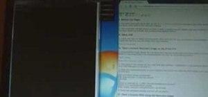 Flash a custom recovery image & load custom ROMs on an HTC Droid Eris