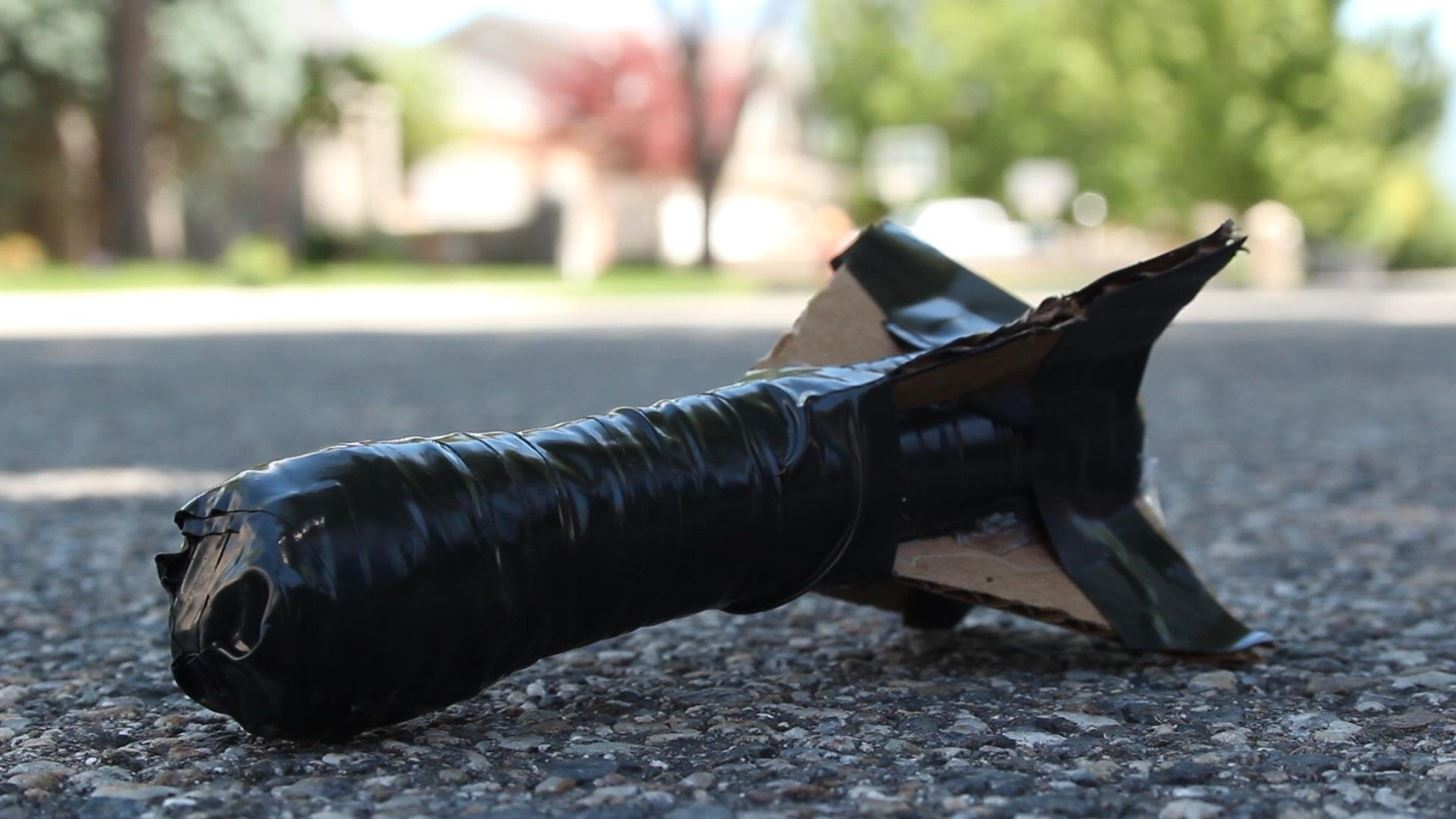 how to make a powerful handheld rocket launcher from pvc