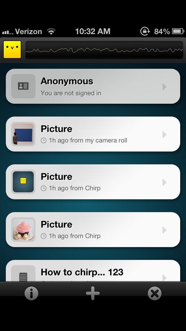 How to Share Photos from One iPhone to Another with Just the Sound of a Chirp