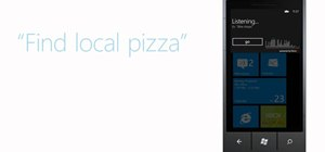 Use voice commands on a Windows Phone 7 smartphone