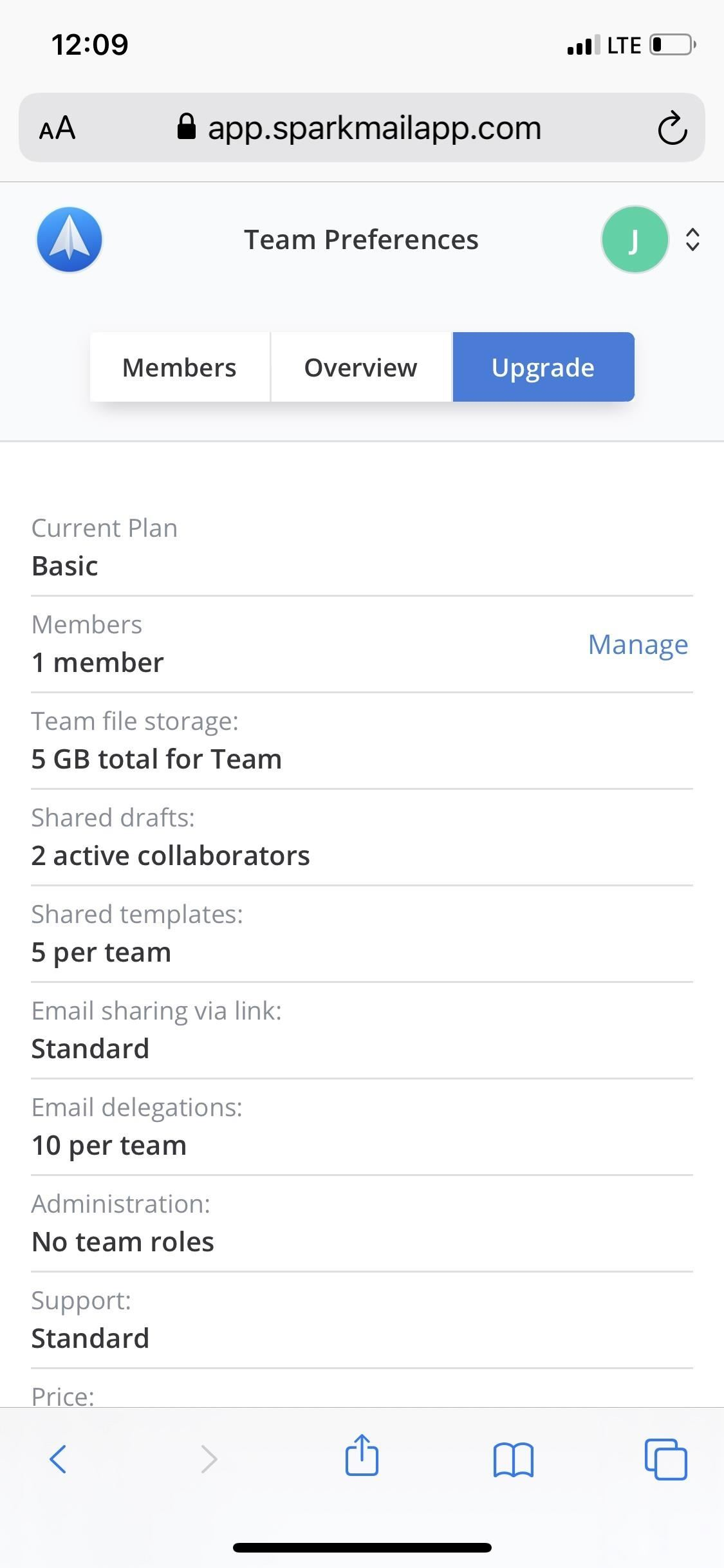 Create and Manage a Spark Team for Email Collaboration