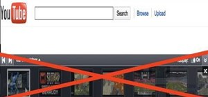 Remove the gray ad bar from YouTube with AdBlock Plus & Mozilla Firefox