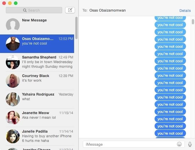 Prank Your Apple Friends with 1,000s of iMessages in Just One Click