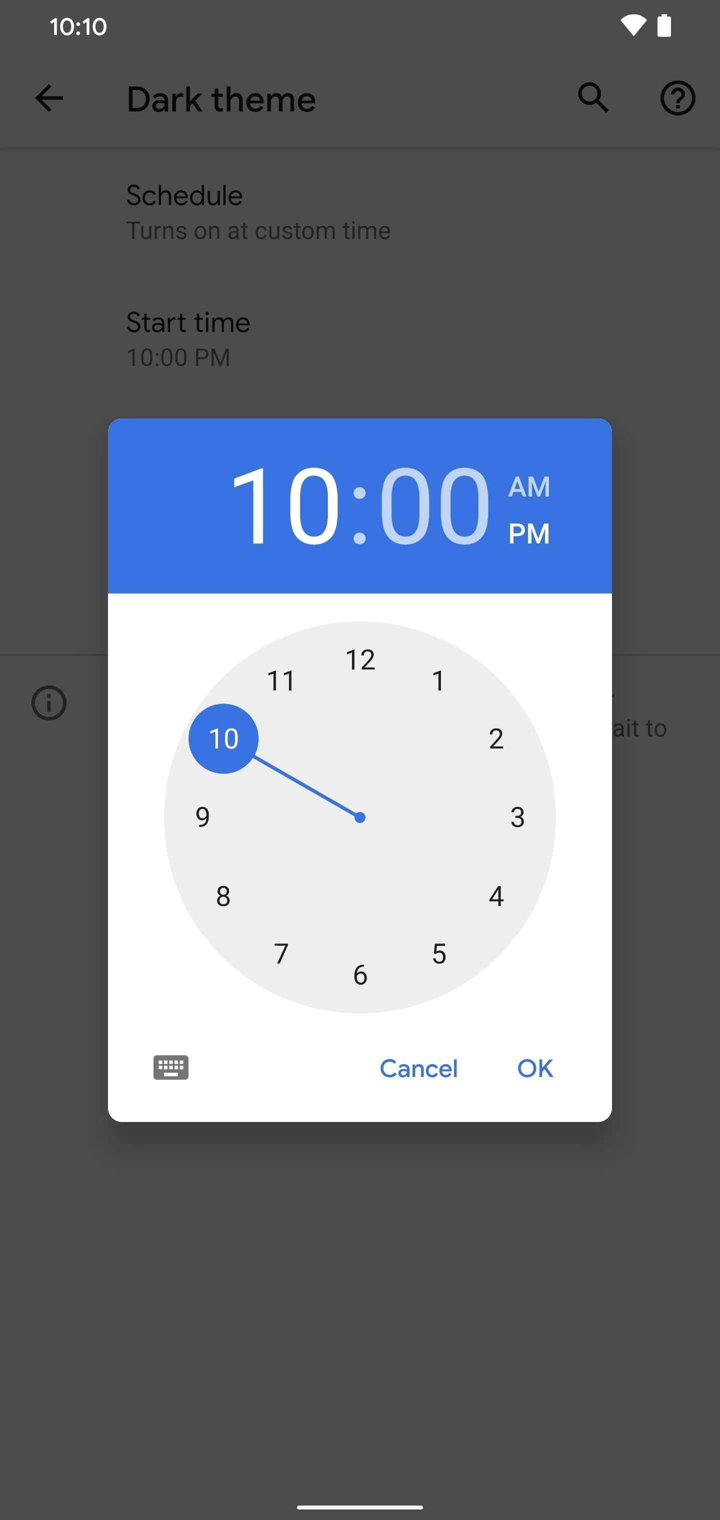 Make Your Pixel's Dark Mode Turn on Automatically at Sunset or a Specific Time