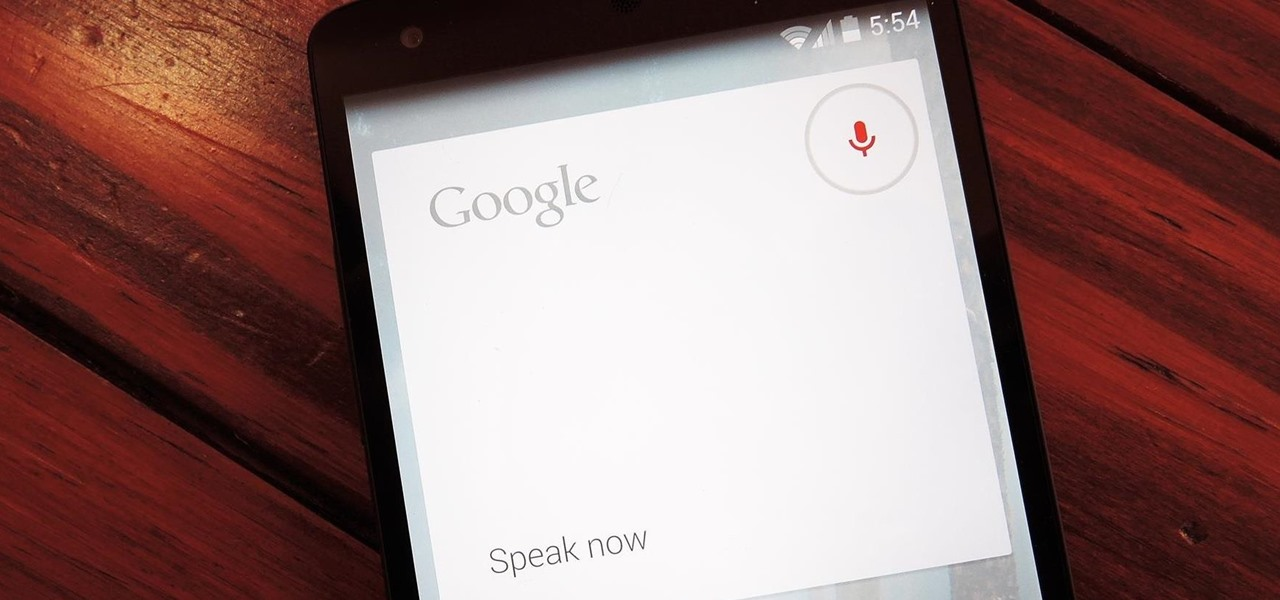 """""""Tell"""" Your Nexus 5 to Play Music, Toggle Settings, & Other Custom Voice Commands"""
