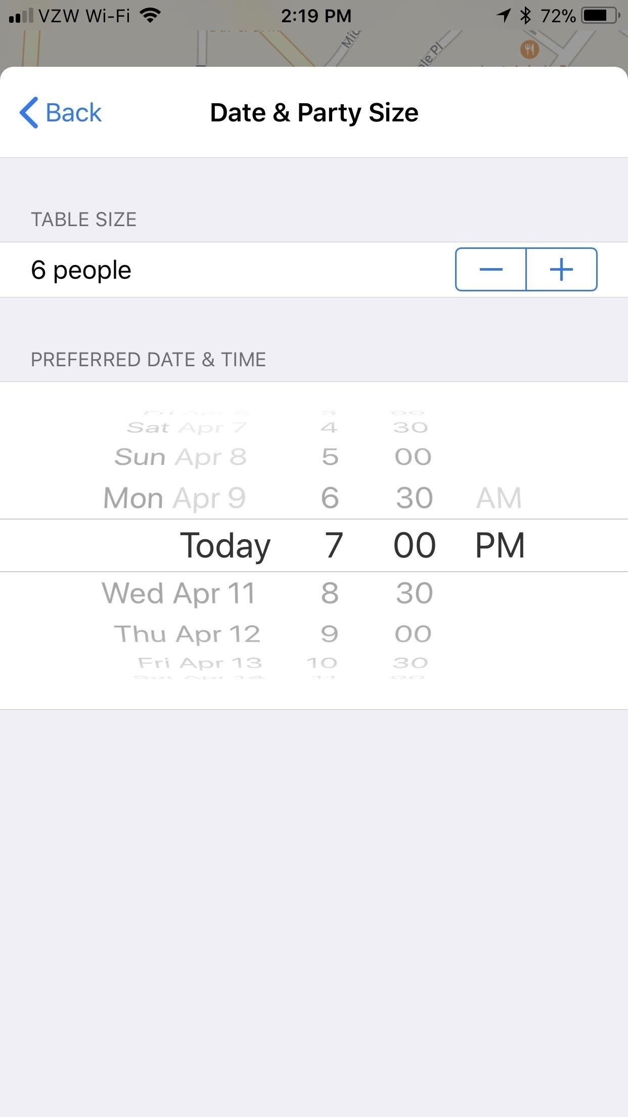 How to Book Dinner Tables Directly from Apple Maps on Your iPhone