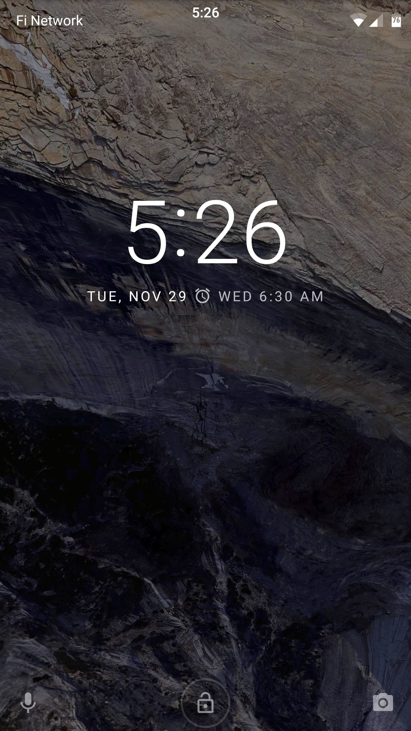 How to Center Your Pixel XL's Status Bar Clock, iPhone-Style