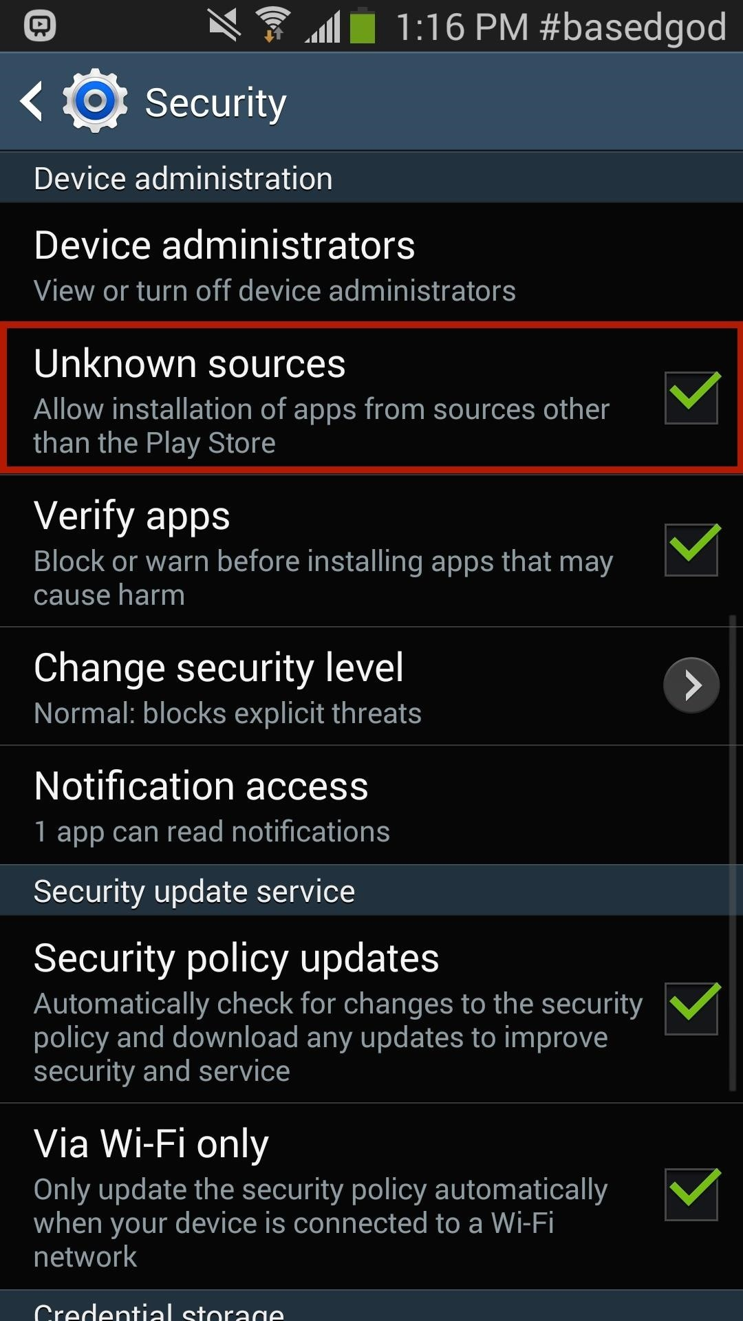 apps that enable to download on android