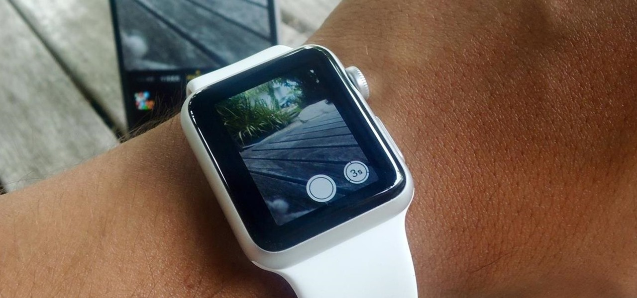 Use the Apple Watch as a Remote Shutter for Your iPhone's Camera
