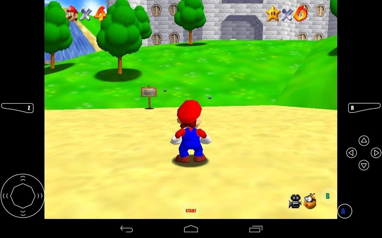 How to Play Super Mario 64 and Other Popular Nintendo 64 (N64) Games on Your Nexus 7 Tablet