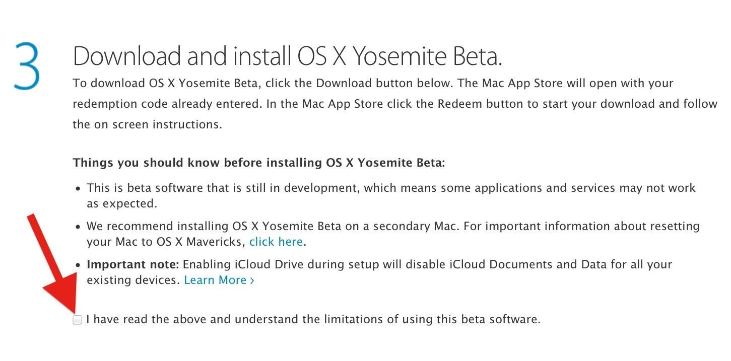 How to Get the Public Beta Preview of Mac OS X 10.10 Yosemite on Your Mac