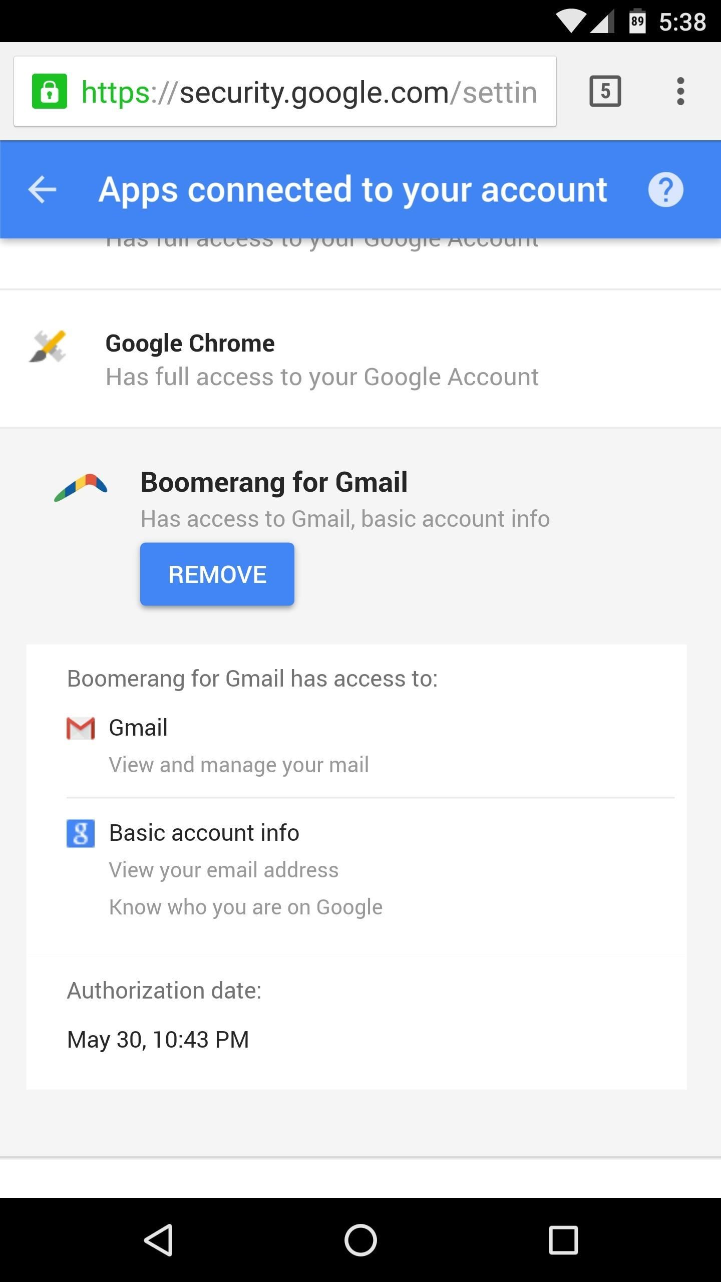 How to Stop Apps from Accessing Your Google Account