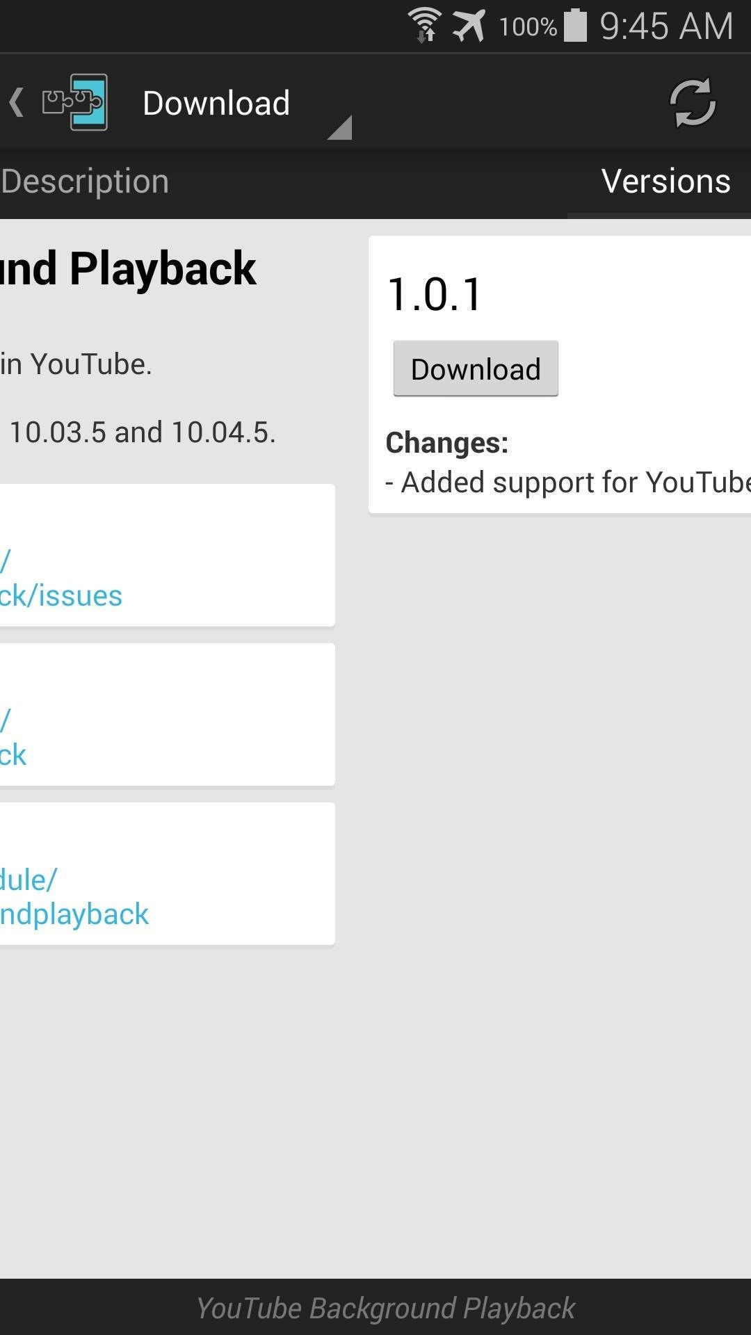 Get Background YouTube Playback on Android Without a Music Key Subscription