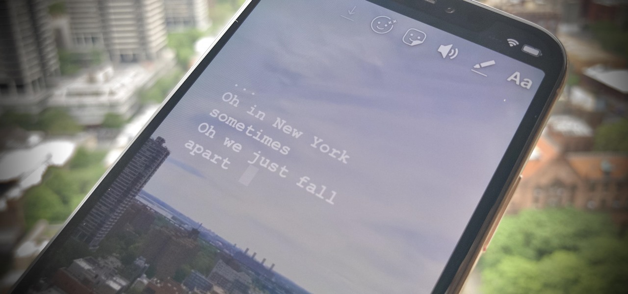 Add Song Lyrics to Playing Music in Your Instagram Stories