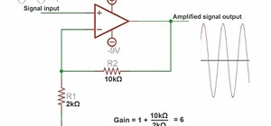 Use an operational amplifier to amplify voltage and build a microphone circuit