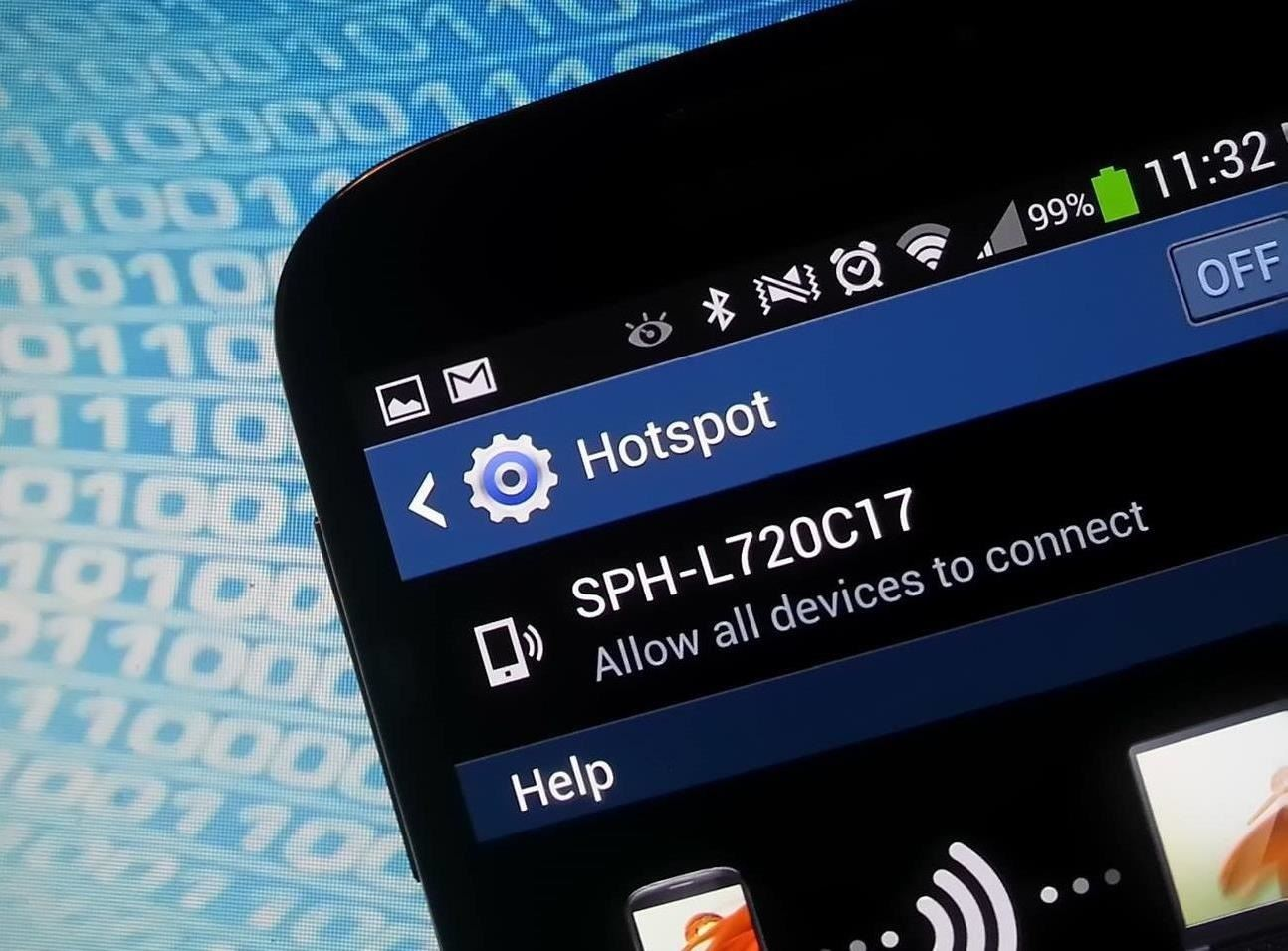 How to Hack Your Samsung Galaxy S4 into a Free Wireless Hotspot