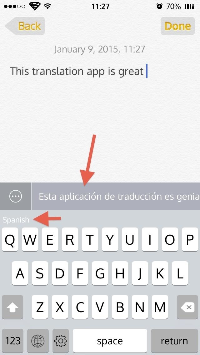 Slated: An iOS Keyboard That Lets You Text in Any Language You Want on Your iPhone