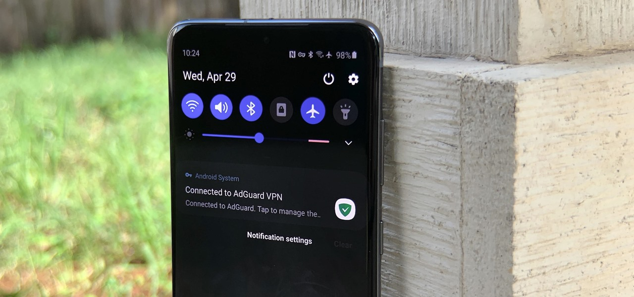 Remove the 'Connected to VPN' Notification on Your Samsung Galaxy Device