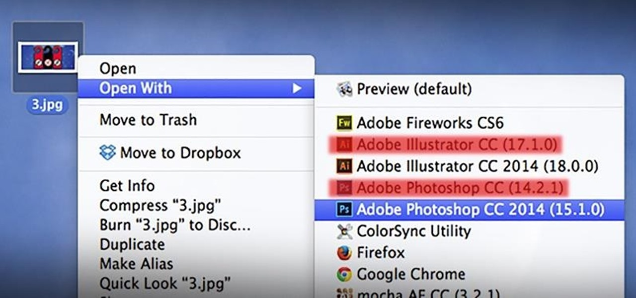 "Remove Duplicates & Customize the ""Open With"" Menu in Mac OS X"