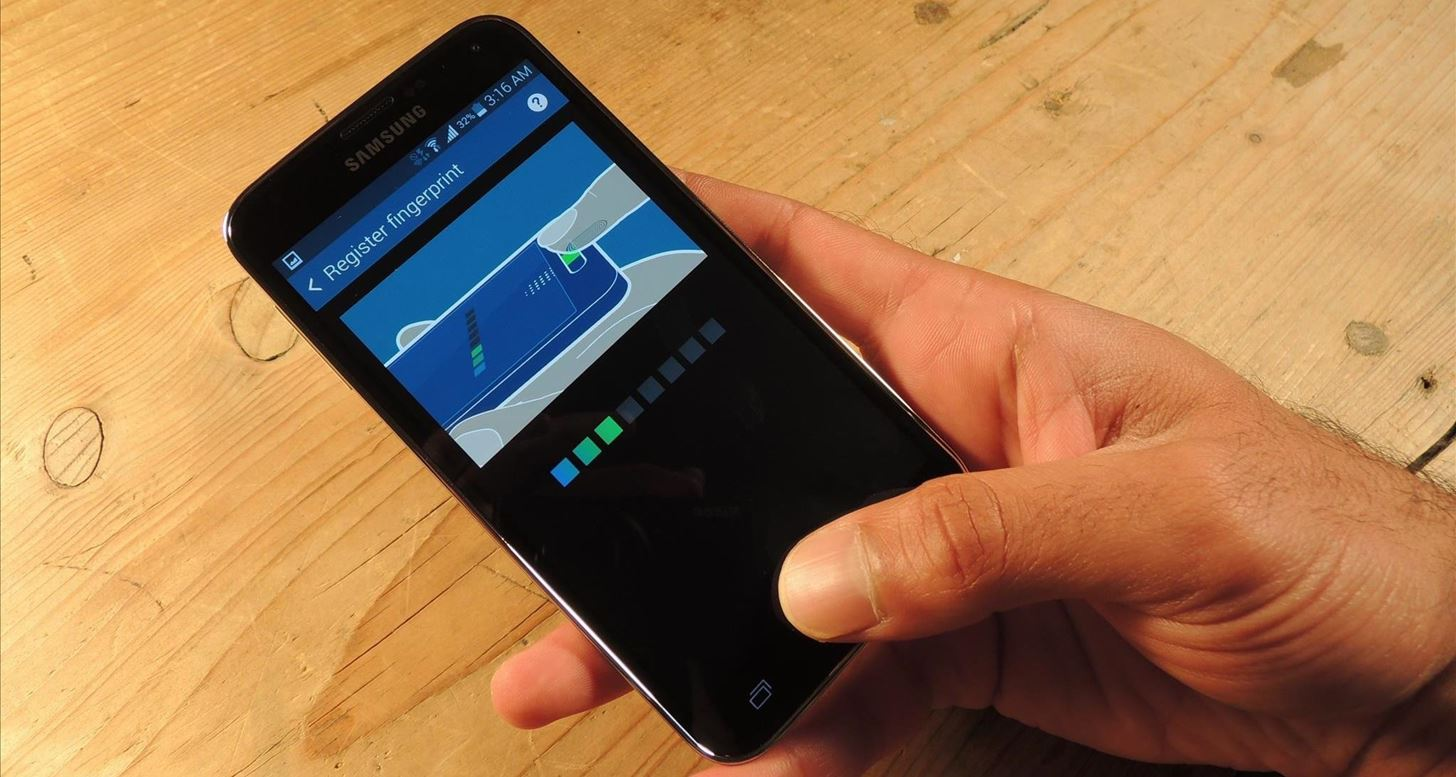 How to Unlock Your Fingerprint-Protected Galaxy S5 Using Only One Hand