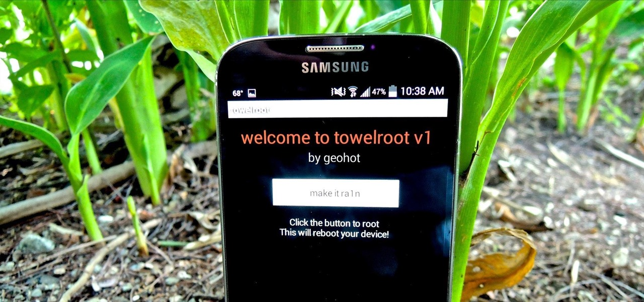 Root Any Samsung Galaxy S4 in One Click