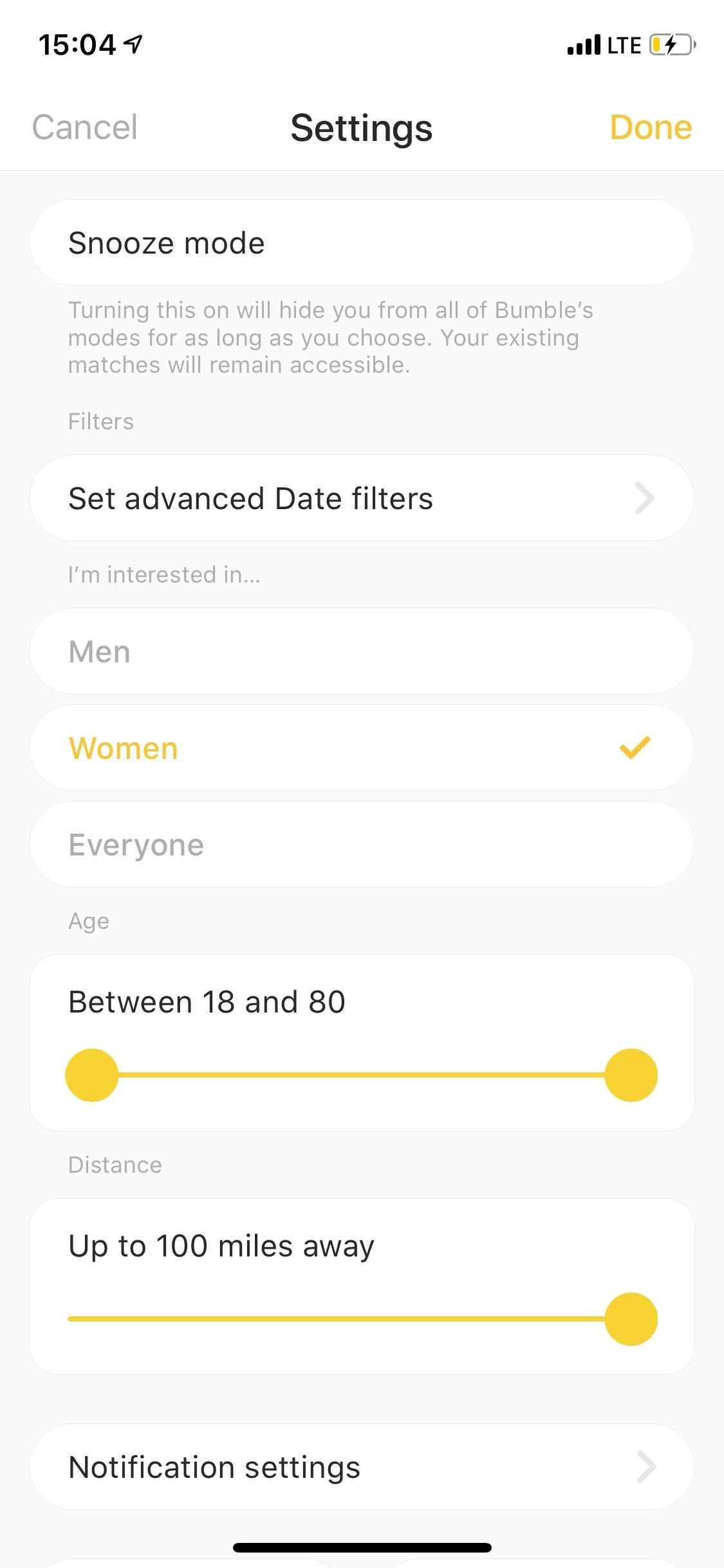 How to Filter Potential Matches on Bumble « Smartphones