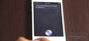 Use the Siri app in iOS 5 on an iPhone