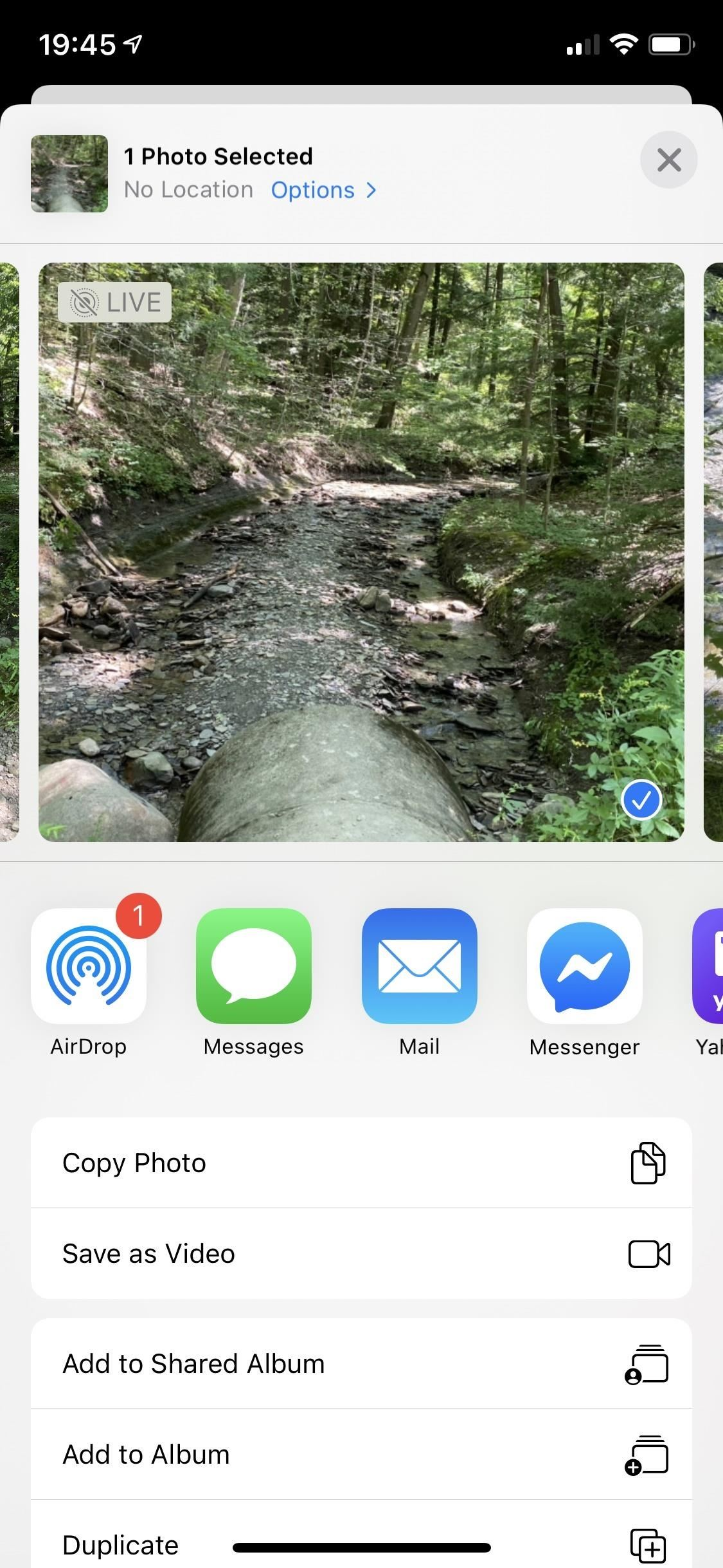 Don't Want to Share the 'Live' Part of a Live Photo from Your iPhone? Do This
