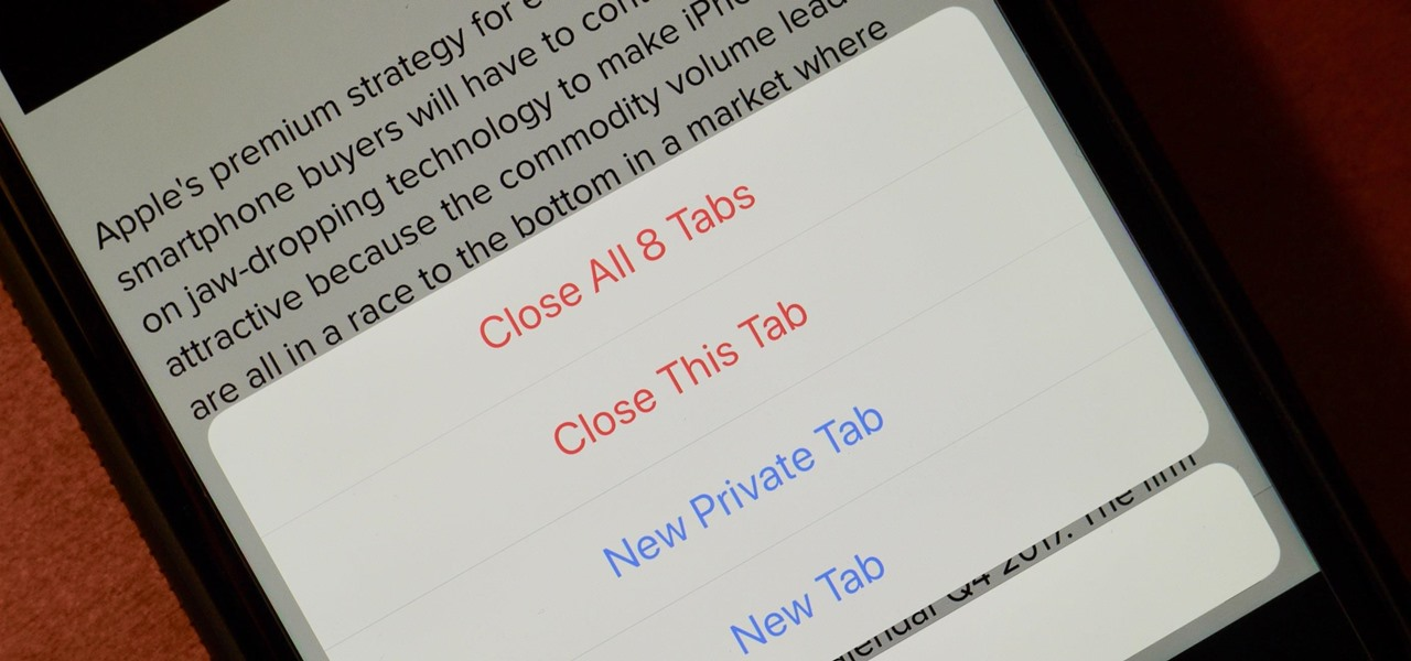 How to Close All Your Open Tabs at the Same Time