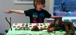 Make a Playable Angry Birds Birthday Cake
