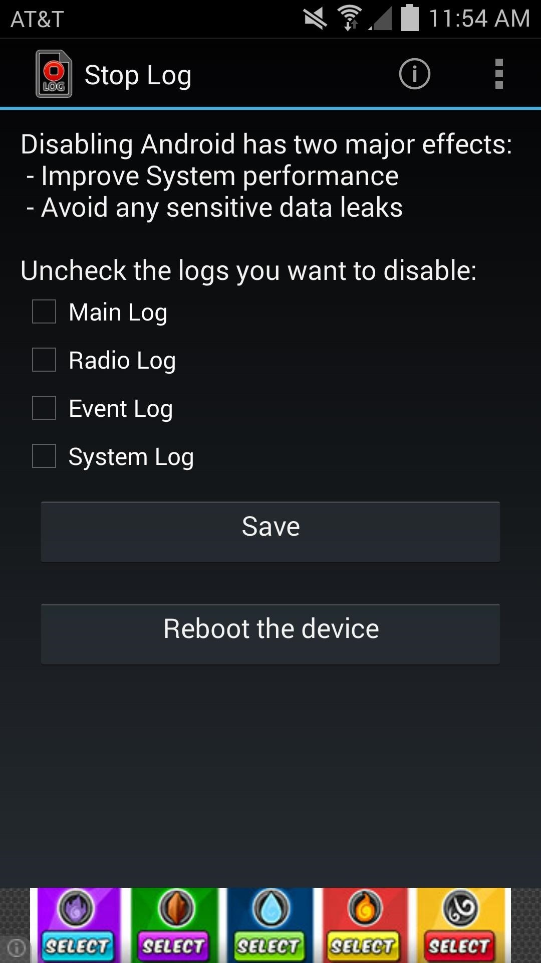 Block Apps from Logging Your Data on Android