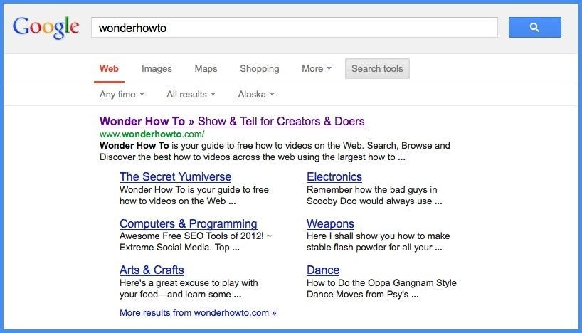 How to Put Google's Search Tools Back on the Left Sidebar