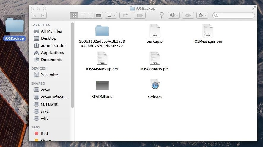 How to Extract & Back Up All Your Text Messages & Picture Messages from Your iPhone to Your Mac
