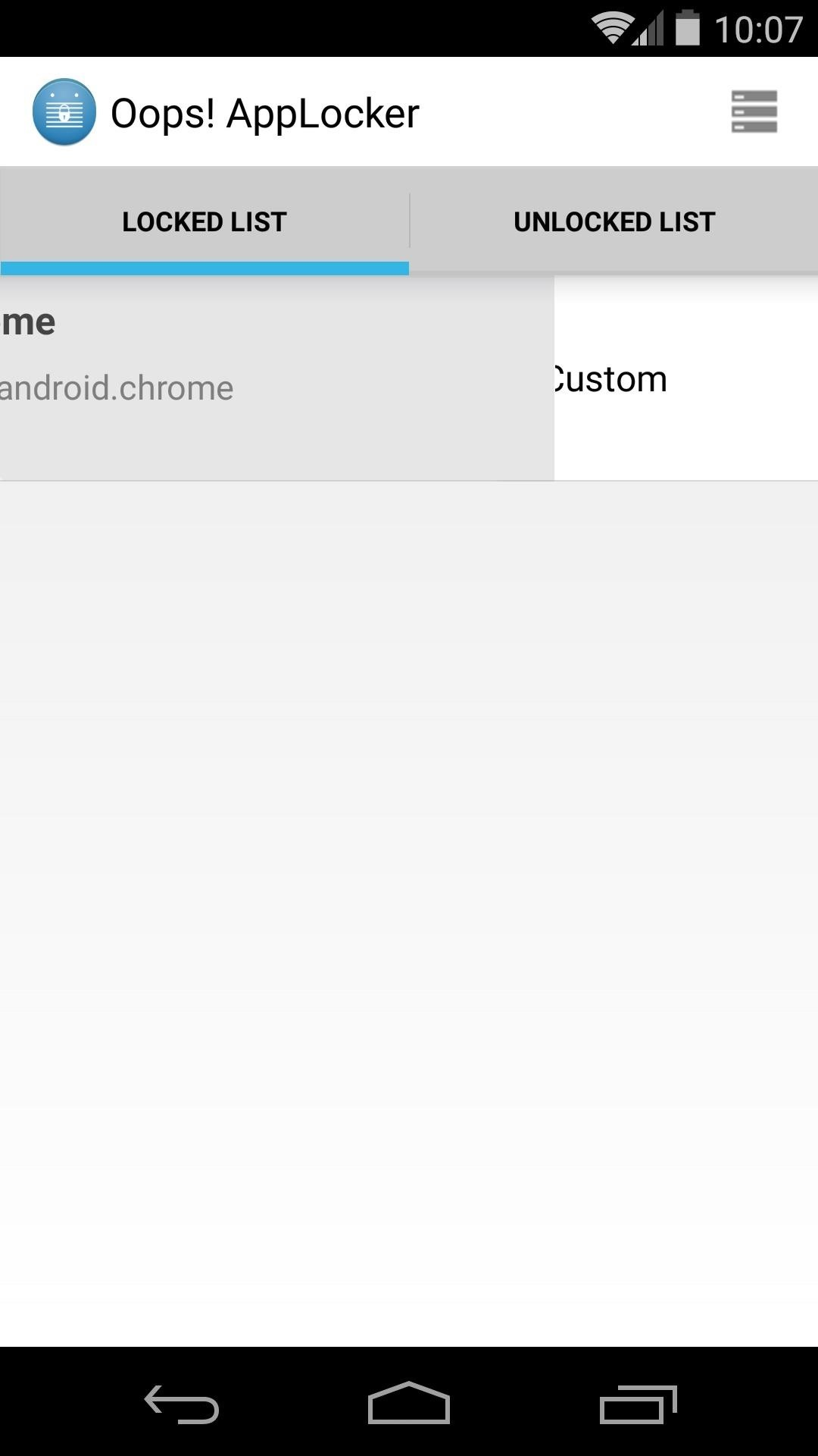 Protect Apps with a Secret Volume Button Code on Android