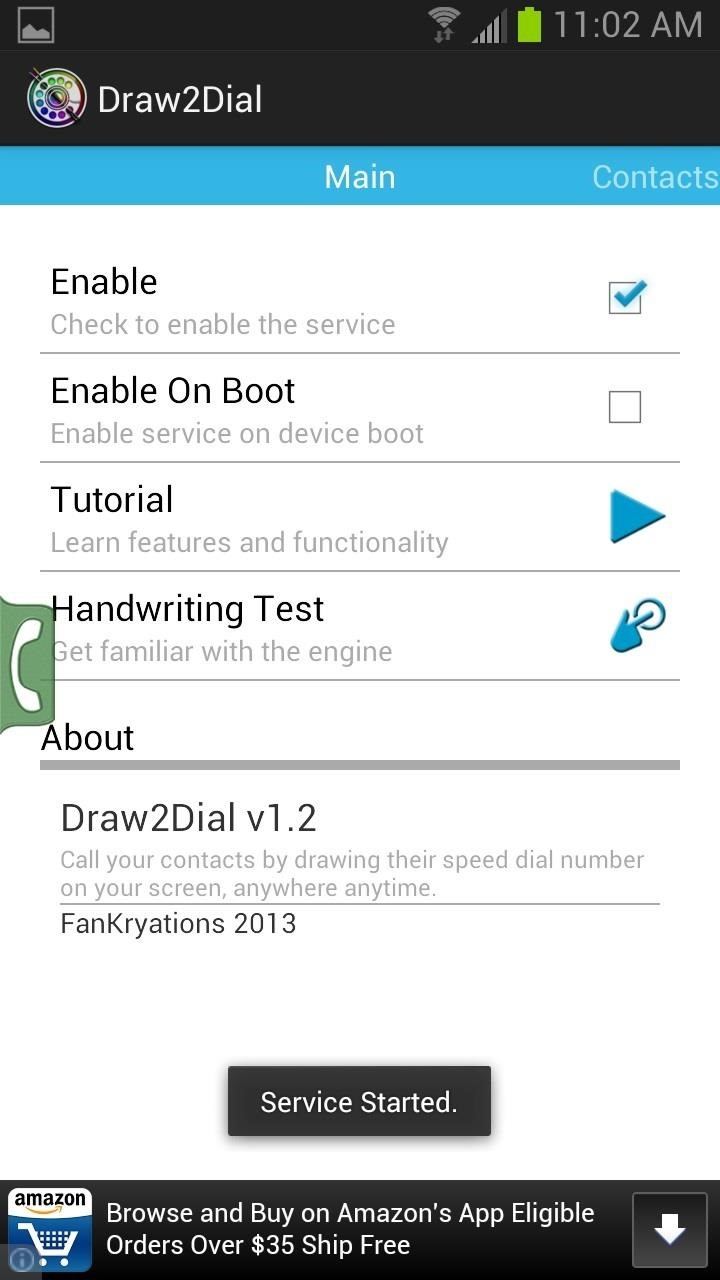 How to Speed Dial Frequent Contacts with a Quick Draw Gesture on Your Samsung GS3