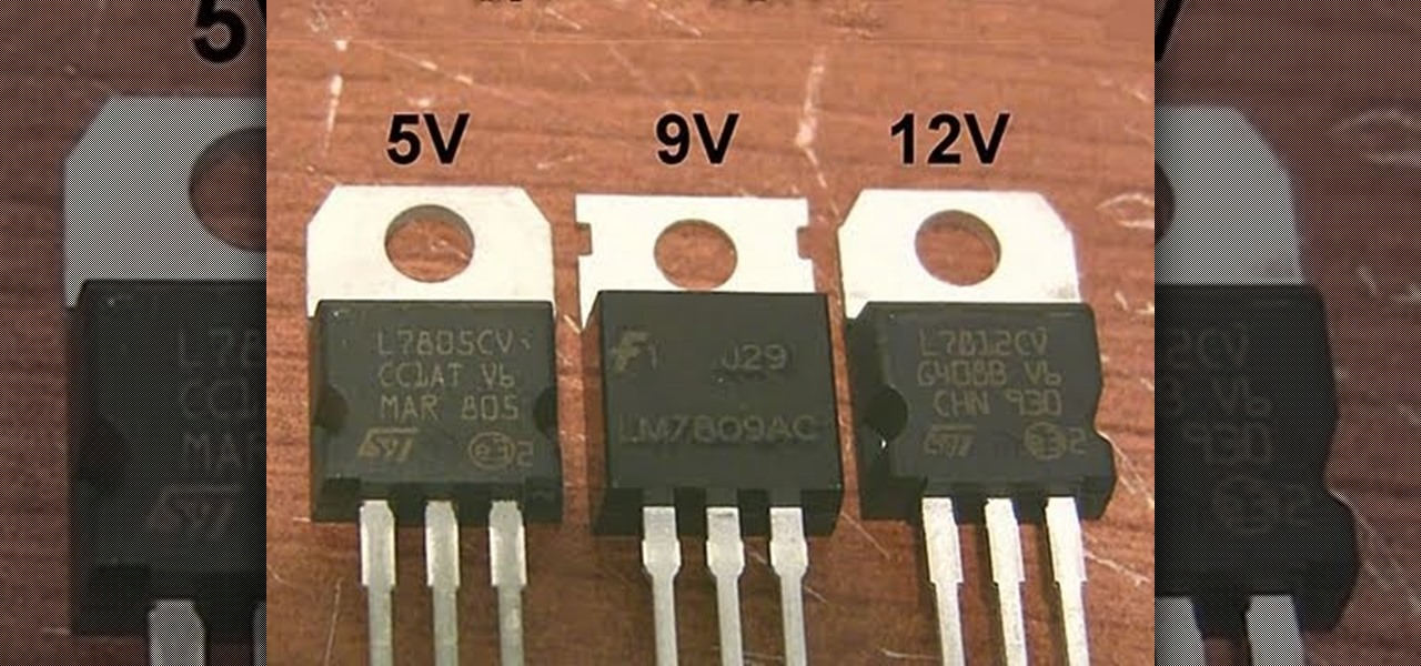 How To Find And Wire Linear Voltage Regulators And Make A