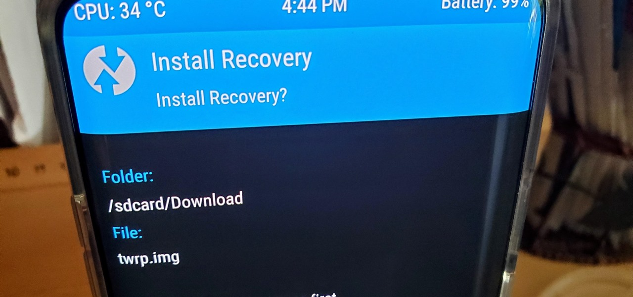 Install TWRP Recovery on Your OnePlus 7 Pro