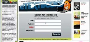 Save money at school by buying new and used textbooks online