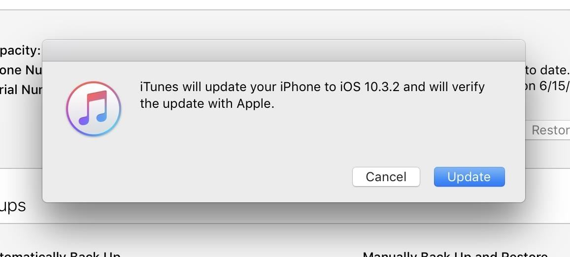 How to Downgrade iOS 11 Back to iOS 10.3.2 on Your iPhone