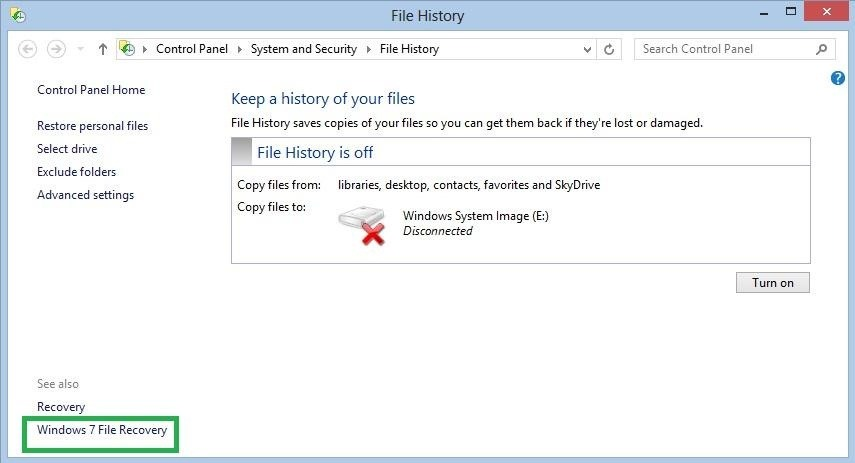 How to Create a System Image Backup of Your Entire Windows 8 PC