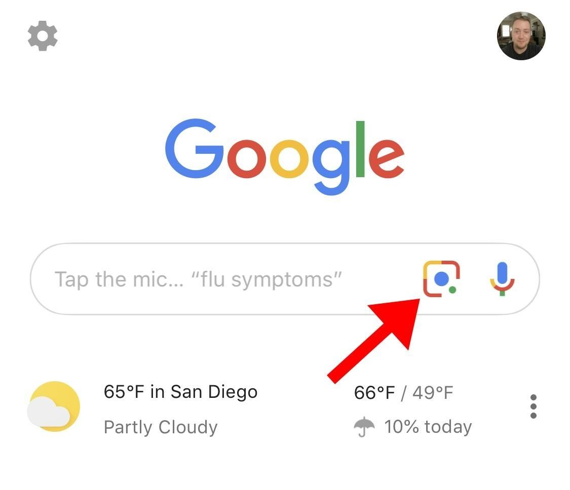 You Really Should Tap This Icon in Your iPhone's Google App