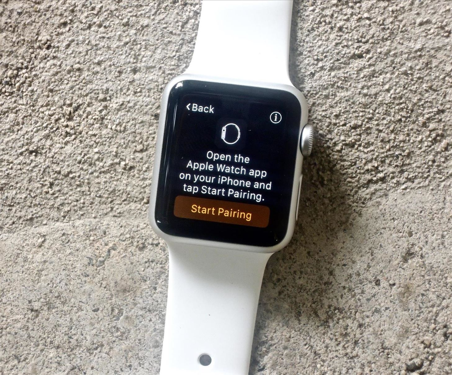 timeless design 93cc9 ebb91 How to Pair & Set Up Your Apple Watch with Your iPhone « iOS ...