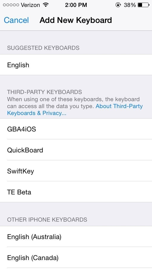 SwiftKey, the Mind-Reading Keyboard, Is Here for iOS 8