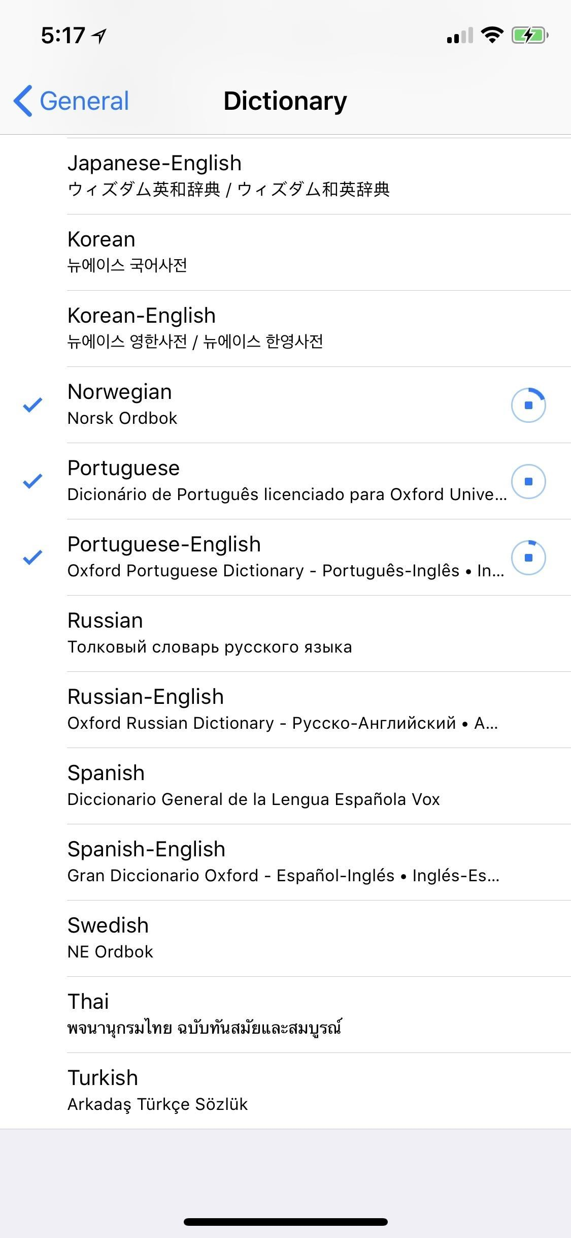 How to Add Foreign Language Dictionaries to Your iPhone to