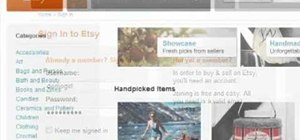 Create a new buyer or seller account on Etsy