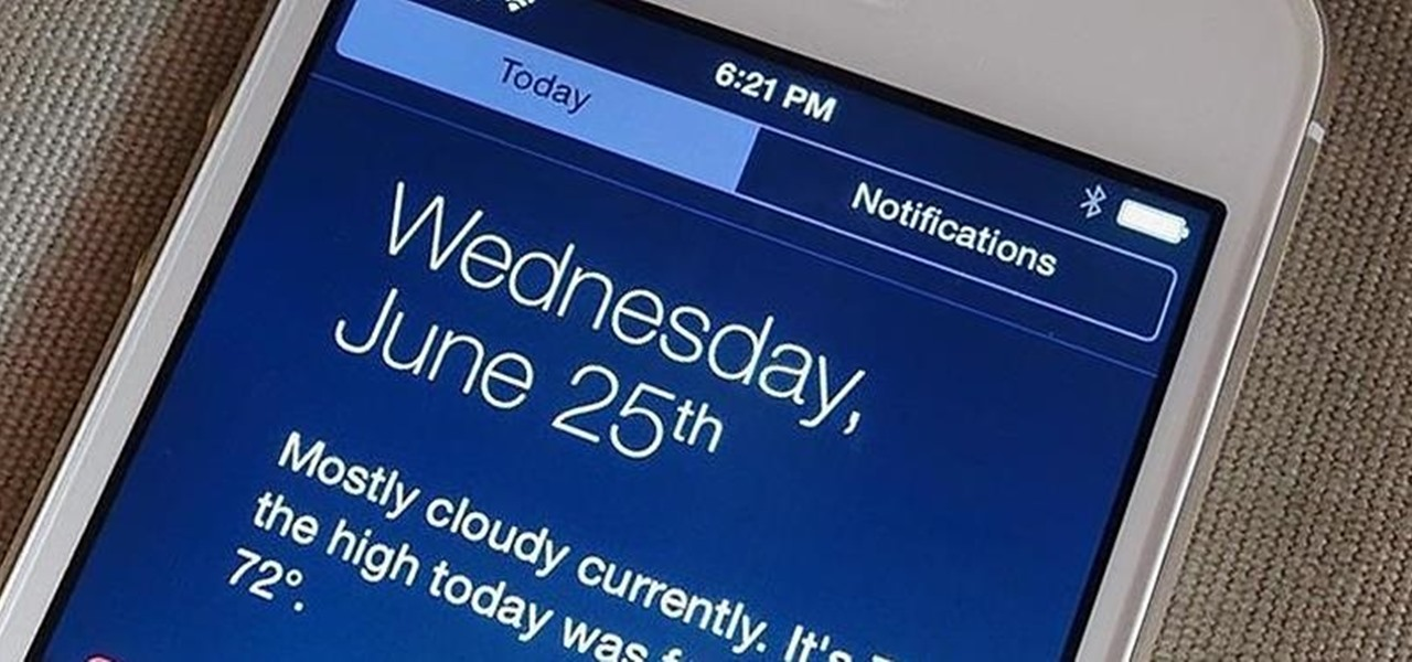 Install iOS 8's New Notification Center on iPads & iPhones Running iOS 7