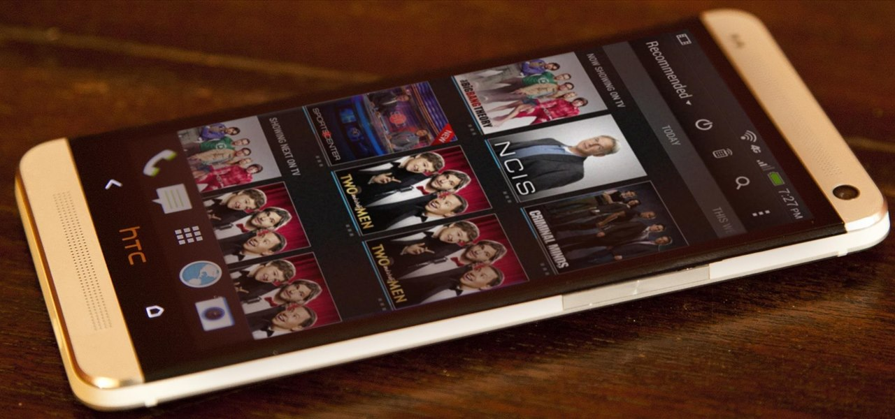 Turn Your HTC One into a Remote Control & TV Guide for Your Home Theater System